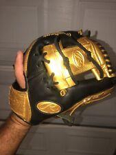 "Custom GOLDEN Rawlings GOLD GLOVE Baseball Glove GG1102G GAMER SERIES 11"""