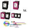 Cartuchos de tinta compatibles HP301 HP 301 XL Negro/Colores por unidades