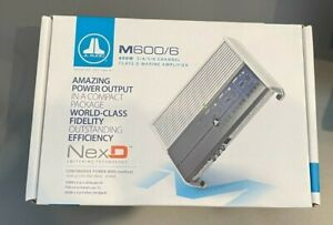 JL AUDIO M600/6 Full-Range Marine Amplifier BRAND NEW MFG # 98272