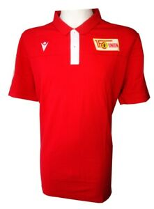Macron 1. FC Union Berlin Polo Shirt, rot/weiss, Größe 4XL, 58017796