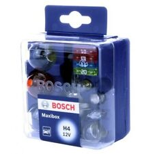 Bosch Maxibox H4 12V 55/60W Halogen Bulb Kit Assorted Bulbs Fuses 1987301111