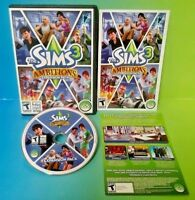 Sims 3 Ambitions Windows/Mac: Mac and Windows - Complete with Key Code & Manual