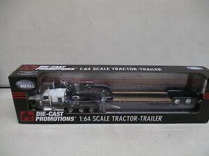 Die-Cast Promotions Lowboy Tractor Trailer 1/64