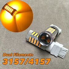 Rear Turn Signal Light Amber samsung 63 Led bulb T25 3157 3457 4157 For Dodge.1(Fits: Neon)