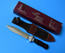Handmade Fighter Sport Boot Knife - NEW Sheffield England Fighting Dagger Sheath