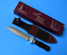 Handmade Fighter Sport Boot Knife - NEW Sheffield England Fighting Dagger Sheath