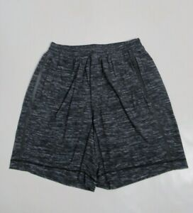 "Lululemon Men's Run Response Short 9"" Lined Black / White Size L Stretch"