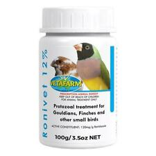 Ronivet 12% for Canker in Canaries, Finches, and other Cage Birds