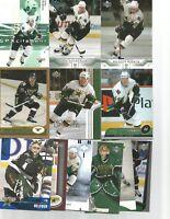 1990-2005 DALLAS STARS HOCKEY 150+ CARD LOT NO DUPS