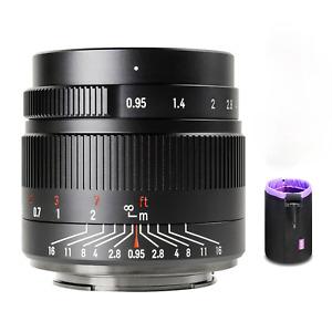 7artisans 35mm f0.95 APS-C Mirrorless Fixed Lens For Sony E/ Fuji X/Nikon Z/M4/3