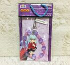 NEW Rare Inuyasha Figure Mascot Beads Phone Strap Charms 6 Types Official Japan