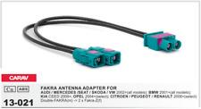 CARAV 13-021 Conector Double-Fakra -> 2xFakra Adaptador Antena Radio Audi VW BMW