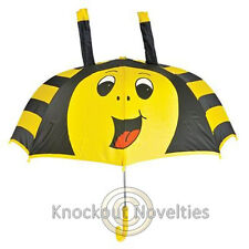 Bee Umbrella Raining Dry Head Cover Rain Wet Protect Water Bumble Yellow Bees