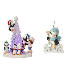 Precious Moments 2018 2-piece Penguin Ornament Set New In Boxes Sold Out Online