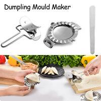 Stainless Steel Dumpling Mould Maker Wrapper Dough Cutter Pie Ravioli Tools 3pcs