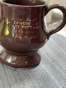 McCoy Pottery Souvenir MUG 3rd Annual Zanesville Art Pottery Convention 1979 EXC