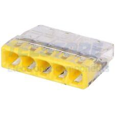 5 pcs 2273-205 Morsetto connettore rapido per installazioni 2273 PIN 5 WAGO