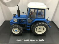 Universal Hobbies 1/32 Ford 6610 Gen 1 4wd tractor Diecast Model NIB UH5367
