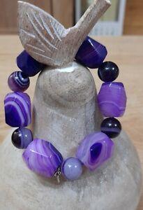 Lola Rose Bracelet Autumn Purple Persian Agate BNWT