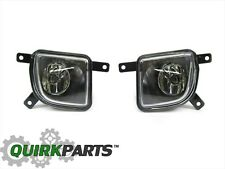 04-08 Chrysler Crossfire FRONT RIGHT & LEFT SIDE FOG LIGHT LAMP SET/2 NEW MOPAR