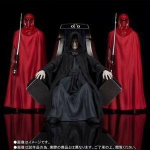 BANDAI Premium S.H. FIGUARTS Star Wars Emperor Palpatine Throne Room U.S. Seller