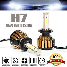H7 CREE LED Headlight Kit 980W 147000LM Bulbs 6000K High or Low Beam Front Lamp