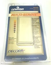 Leviton Decora Multi-Remote Light Dimmer Switch Ivory - MS00R-10I