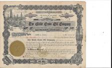 THE GLOBE CRUDE OIL COMPANY.(DENVER CO).....1917 COMMON STOCK CERTIFICATE