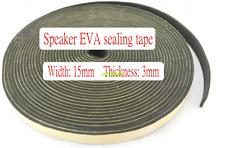 1M 15*3mm Speaker gaskets EVA gasket Speaker sealing tape Sponge strips