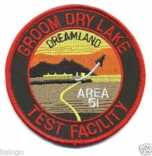 AREA 51 GROOM DRY LAKE PATCH - GDL02