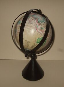 SMALL ROTATING DESK TOP GLOBE
