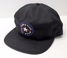 BLACK CHRISTIAN ALL STAR HAT-  BASEBALL CAP
