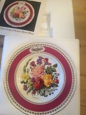 RHS Chelsea Flower Show plate 1982 - by Royal Worcester