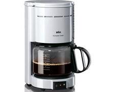 Braun Kaffeemaschinen aus Kunststoff mit Kabelaufbewahrung