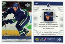1X NATHAN MCIVER 2006 07 Upper Deck #493 RC Rookie YOUNG GUNS Lots Available