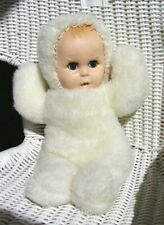 1970s Plush Gerber Baby by Atlanta Novelty Company with (non-working) Music Box