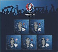 F5050A - FEUILLE NEUVE - UEFA 2016 (Valeur faciale des timbres: 2€) PARIS PHILEX