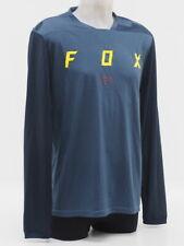 Gr/ö/ße M Blau Fox Indicator Ss Mash Camo Jersey