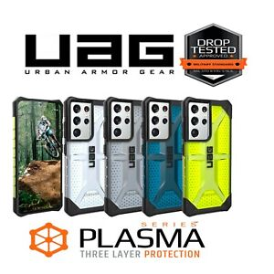 UAG Plasma Case for Galaxy S21 Ultra 5G Rugged Cover Transparent Protective
