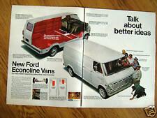 1968 Ford Econoline Ad  New Econoline Vans