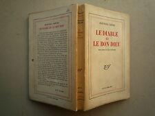 1951 LE DIABLE ET LE BON DIEU DE JEAN PAUL SARTRE CHEZ NRF GALLIMARD 1er TIRAGE