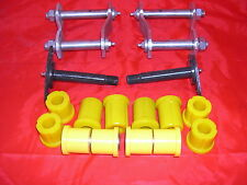 MAZDA BRAVO 4WD B2500 DIESEL  REAR SPRING GREASABLE SHACKLE AND BUSH SET