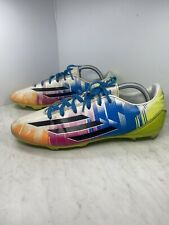 Adidas Messi F10 Soccer Cleats Mens Size US 11 White Solar Slime F32694