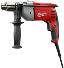 Electric Corded Hammer Drill Clamshell Keyed Power Tool 8 Amp 1/2 in. Milwaukee