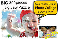 🏅300 pieces Big Personalised Jigsaw Photo Puzzle Birthday Christmas Gift Hens