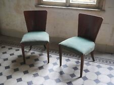 Pair of Classic Chairs H - 214 Jindrich Halabala chairs