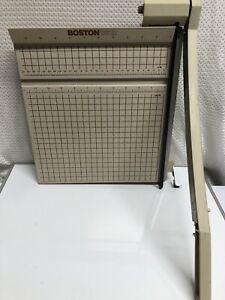"Boston 2612 Paper Cutter 12"" Trimmer Heavy Duty Guillotine USA. G5"