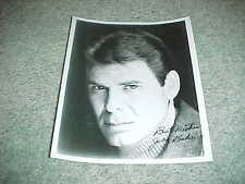 Joby Baker Autographed Signed Photo Actor Painter Canadian