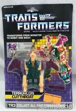 Transformers Original G1 1987 Cutthroat Complete w/ Card Back Unused Stickers
