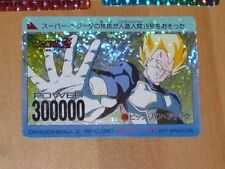 DRAGON BALL Z DBZ AMADA PP PART 17 CARD PRISM CARTE 716 VERSION PIXEL JAPAN **